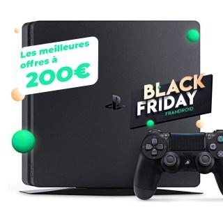 Les meilleures offres PS4 Slim à 200 euros sur Cdiscount pour le Black Friday