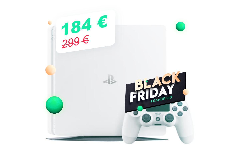 La PS4 Slim avec 1 jeu pour 184 €, tout est possible pendant le Black Friday
