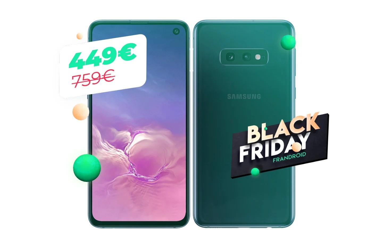 Le Samsung Galaxy S10e à 450 euros chez Cdiscount pour le Black Friday