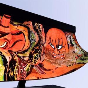 Bientôt de l'OLED enroulable pour votre écran PC ? Sharp et la NHK y travaillent