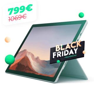 La nouvelle Microsoft Surface Pro 7 passe sous les 800 euros pour le Black Friday