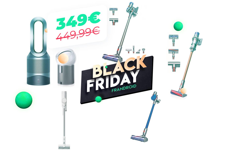 Aspirez qui vous voudrez : les meilleures offres Dyson du Black Friday