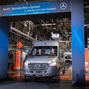 Van utilitaire électrique : Mercedes affronte Peugeot avec son eSprinter flambant neuf
