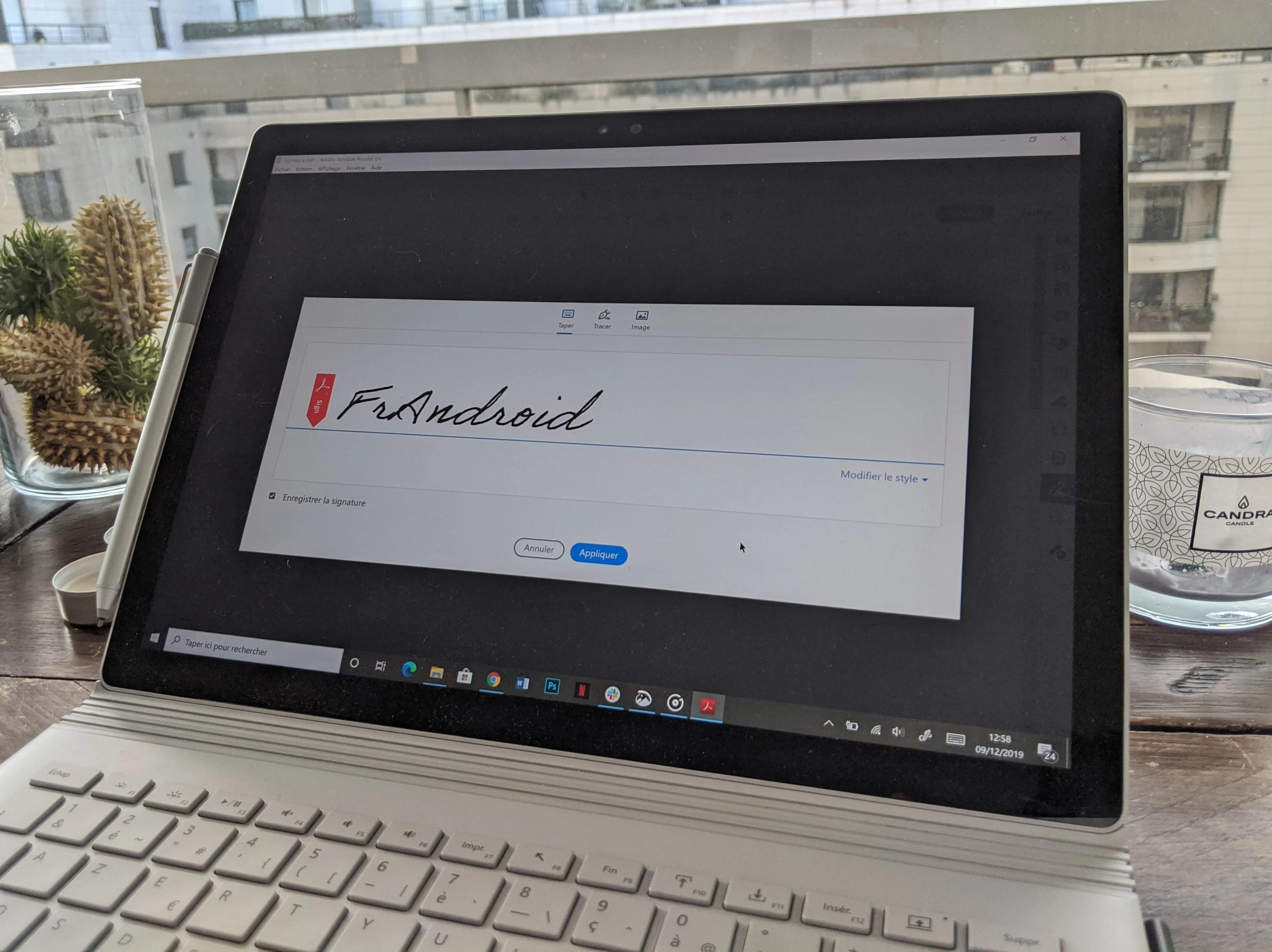 Comment rajouter sa signature sur un fichier PDF