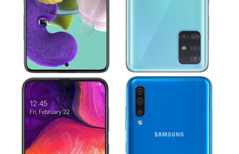 Samsung Galaxy A50 et Galaxy 51 : quelles différences ?