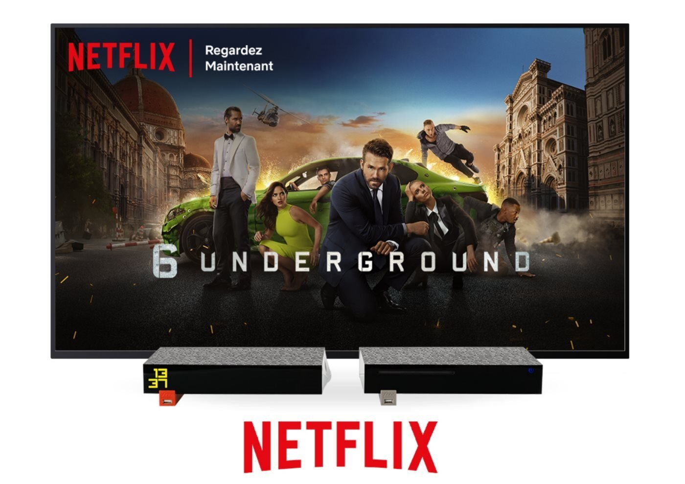 Netflix débarque sur la Freebox Révolution, mais c'est pas gratuit