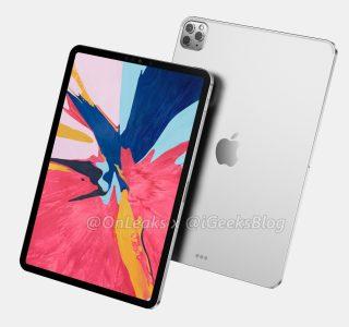 Apple iPad Pro 2020 : le design inspiré par l'iPhone 11 Pro se dévoile