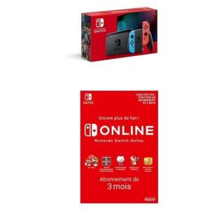 Amazon offre 3 mois d'abonnement Online avec la (nouvelle) Nintendo Switch
