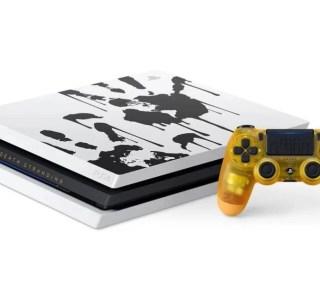 PS4 Pro : l'édition limitée Death Stranding à 369 euros avec 2 bonus (1 jeu + 1 lampe)