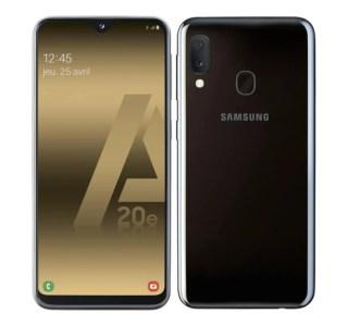 Compact et abordable, telle est la philosophie du Samsung Galaxy A20e à 159 €