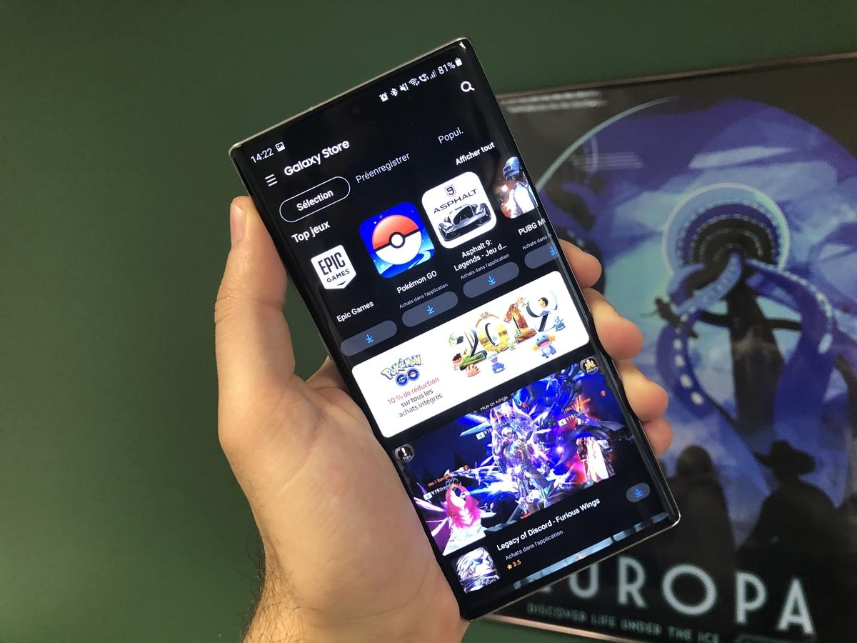 Samsung : le Galaxy Store passe enfin à One UI avec thème sombre