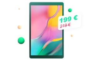 Une bonne tablette à moins de 200 € pour le Cyber Monday ? C'est possible avec Samsung