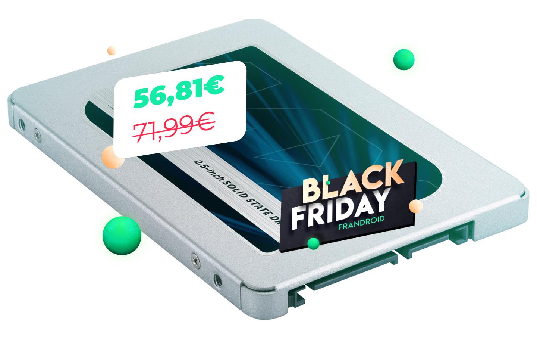 Le Black Friday n'est pas encore fini avec le SSD 500 Go à 57 euros