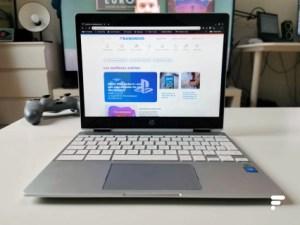 Test du HP Chromebook x360 12 : petit format, grandes capacités