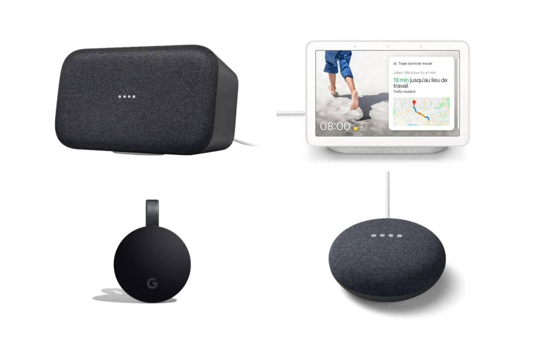 Produits connectés Google : jusqu'à 100 euros de remise sur Fnac Darty