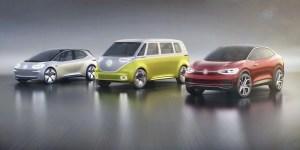 Volkswagen sort l'artillerie lourde : huit électriques et hybrides en 2020