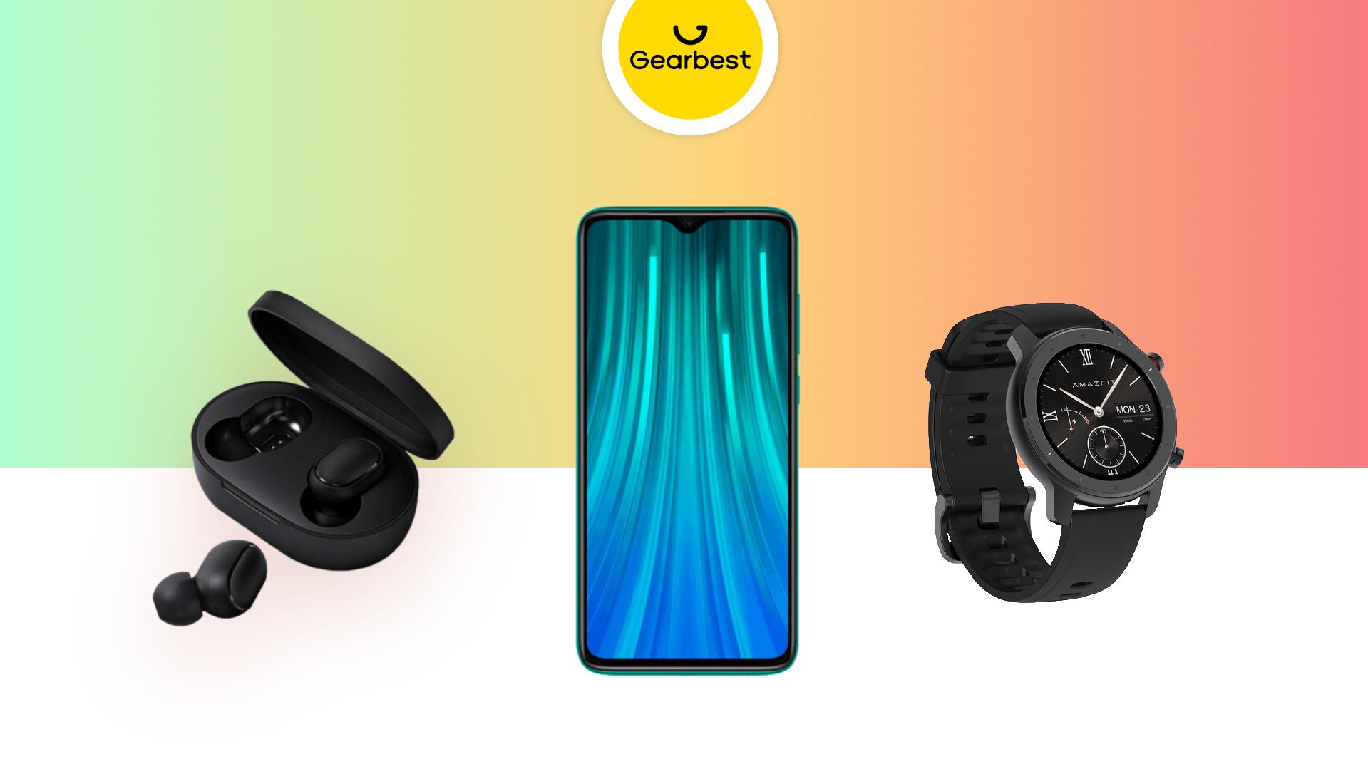 Redmi Note 8 Pro à 194 euros, Redmi Airdots à 17 euros et Amazfit GTR Lite à 100 euros
