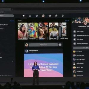 Facebook : le nouveau design avec thème sombre sera déployé au printemps