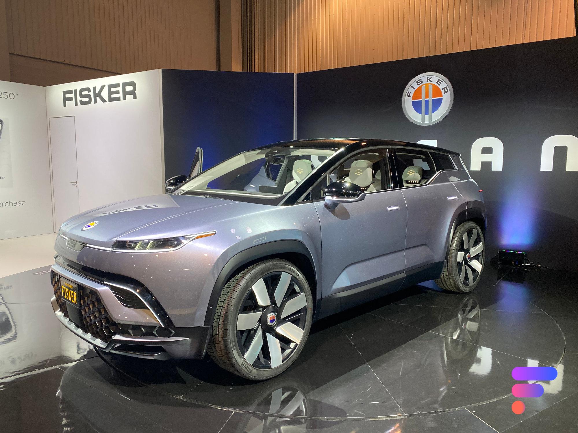 Aperçu du Fisker Ocean, le SUV électrique concurrent de la Tesla Model Y