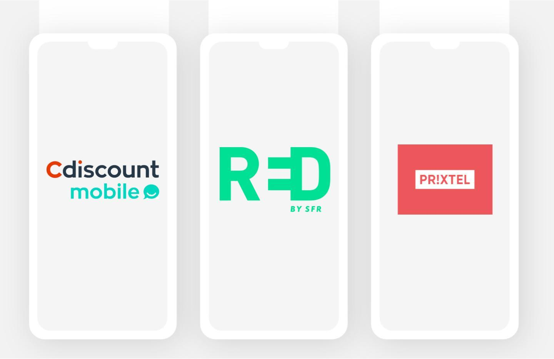 De 5 à 60 Go à partir de 2,99 euros par mois avec l'un de ces 3 forfaits mobile