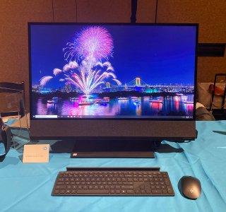 Prise en main du HP Envy AiO 32 : un ordinateur tout-en-un plein de bon sens – CES 2020