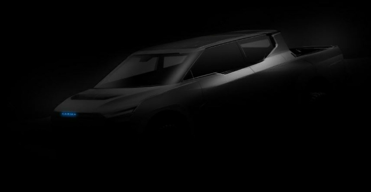 Pick-up électrique : Karma veut mettre des bâtons dans les roues de Tesla et compagnie