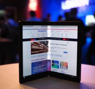 Prise en main du Lenovo ThinkPad X1 Fold : les tablettes pliables arrivent