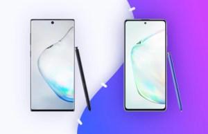 Samsung Galaxy Note 10 Lite et Galaxy Note 10 : ce qui les différencie