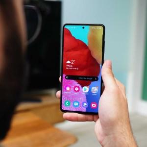 Test du Samsung Galaxy A51: il plaît sans forcer
