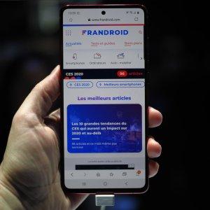 Prise en main du Samsung Galaxy Note 10 Lite: où sont les compromis?