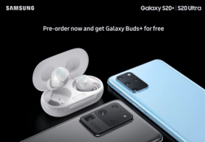 Samsung Galaxy S20 : une photo promotionnelle met en avant leurs gros modules photo