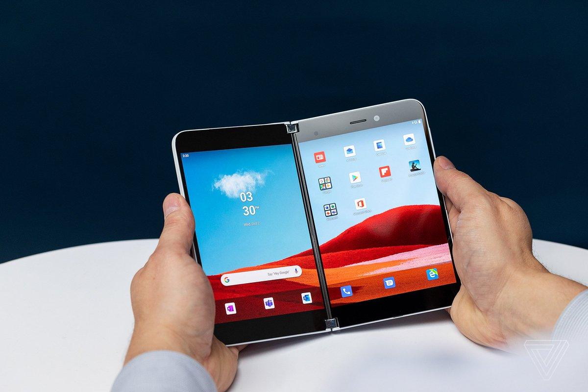 Microsoft internalise le développement d'Android pour ses Surface Duo