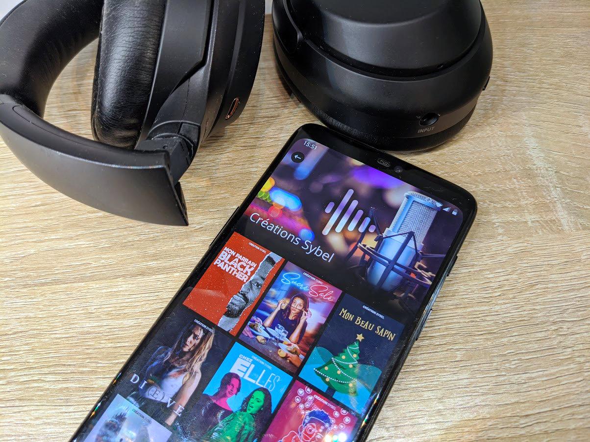 L'app de la semaine : j'ai trouvé le «Netflix des podcasts» et je ne peux plus m'en passer