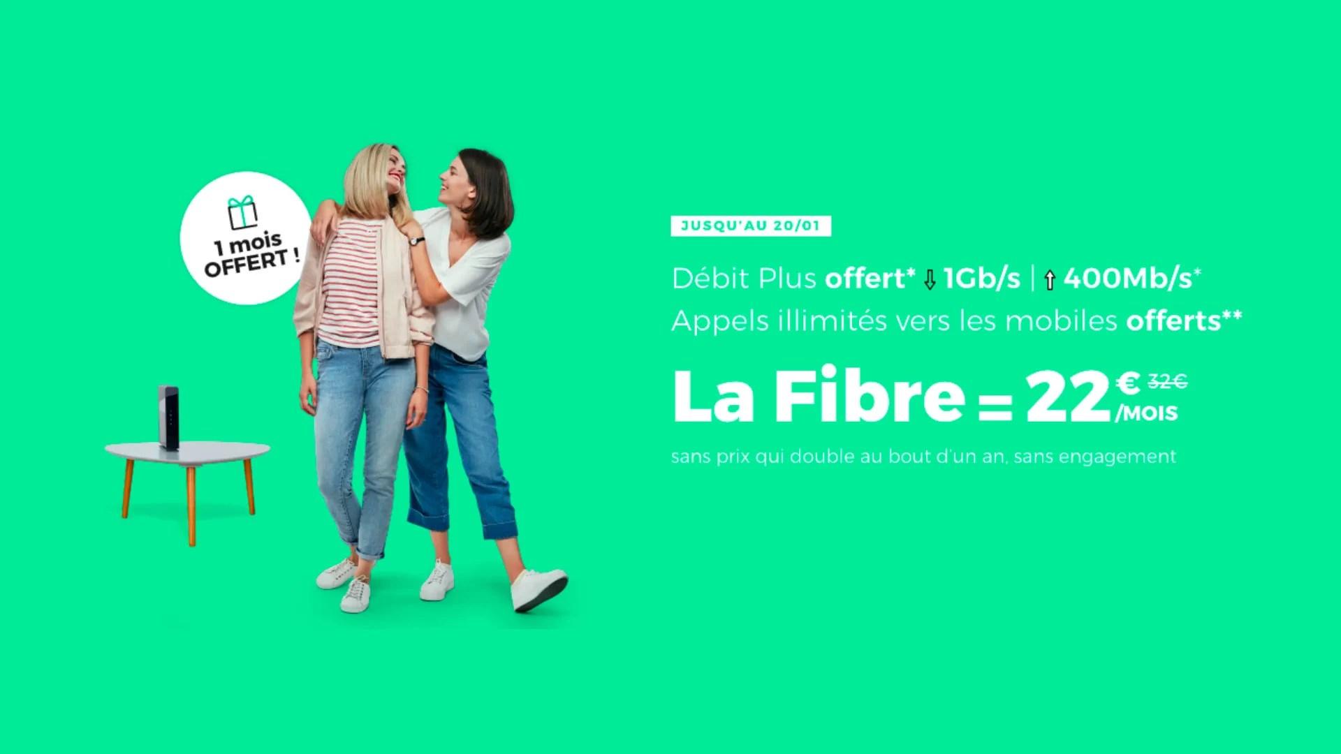 Fibre internet : dernières heures pour profiter d'un abonnement à moins 50%