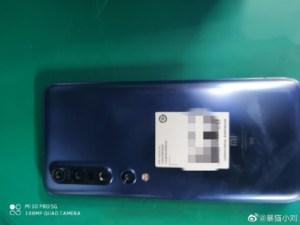 Xiaomi Mi 10 Pro : 3 haut-parleurs astucieusement placés d'après ces premières photos