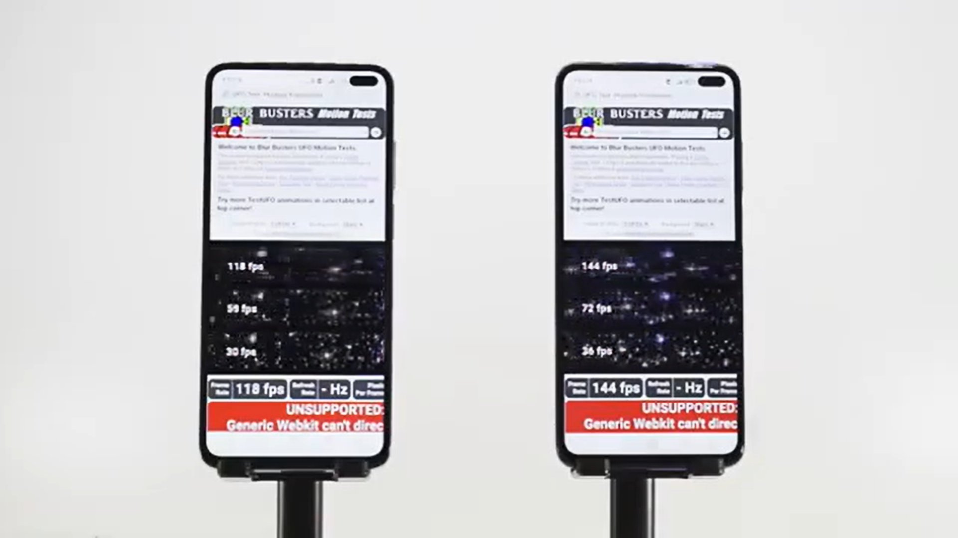 Xiaomi Redmi K30 : pourquoi faire du 120 Hz quand on peut avoir du 144 Hz ?