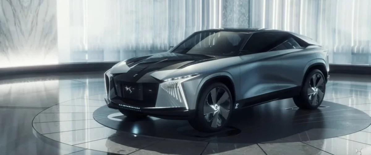 Aero Sport Lounge : le nouveau concept électrique complètement fou de DS Automobiles