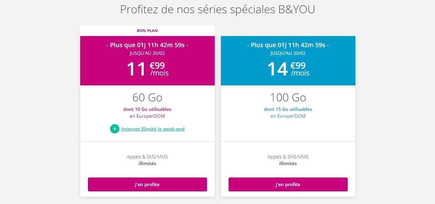 Bouygues Telecom : voici la réponse au forfait mobile 100 Go de RED by SFR