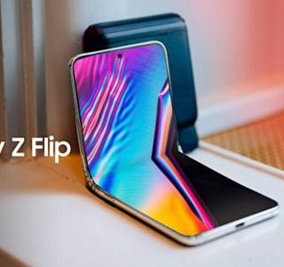 Galaxy Z Flip : Samsung dévoile officiellement son design aux Oscars 2020
