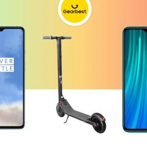 Le OnePlus 7T à 483 euros, la Ninebot Segway ES2 à 335 euros, le Redmi Note 8 Pro à 195 euros