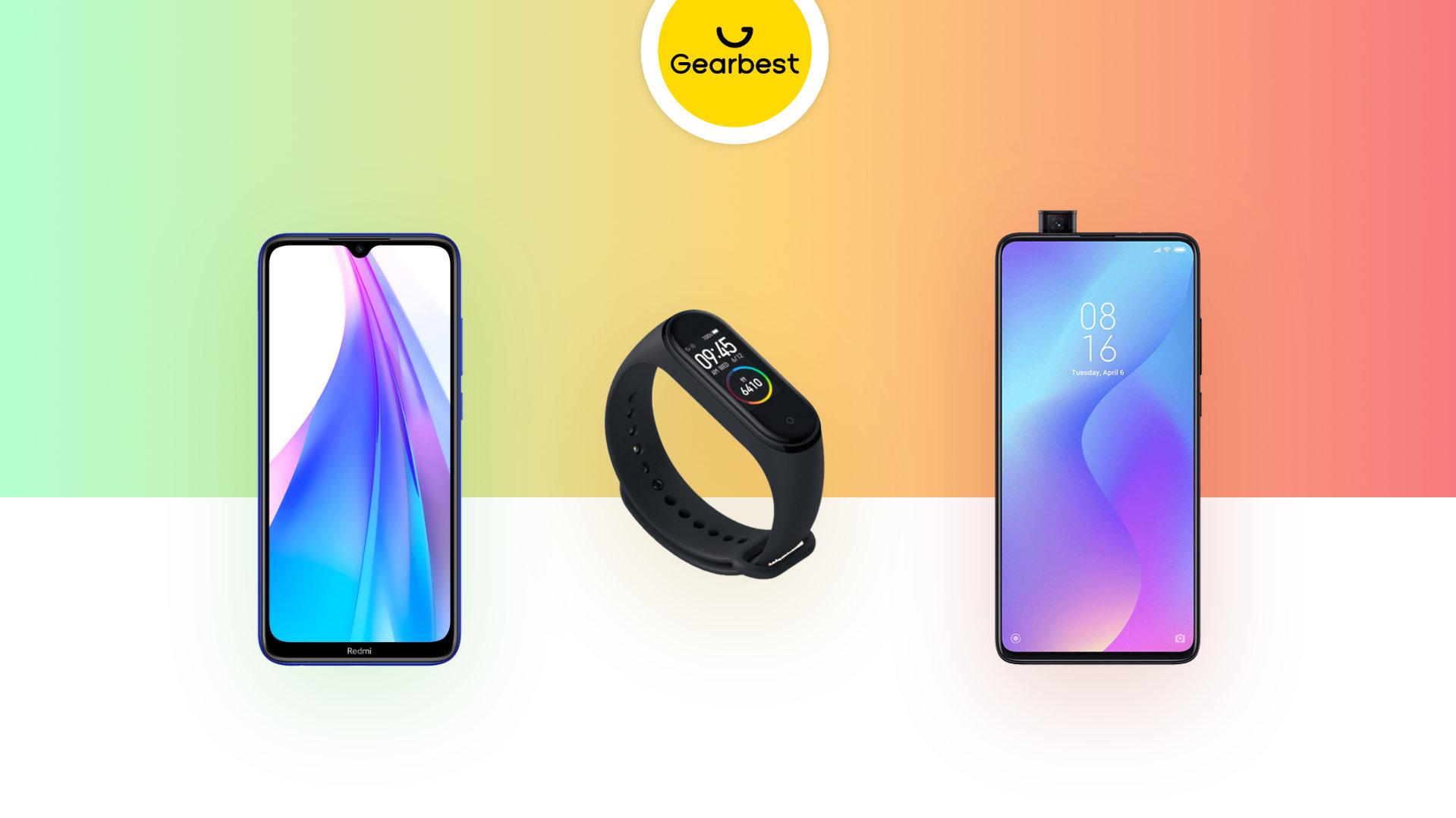 Redmi Note 8 à 129 euros, Xiaomi Mi Band 4 à 25 euros et Redmi AirDots à 17 euros