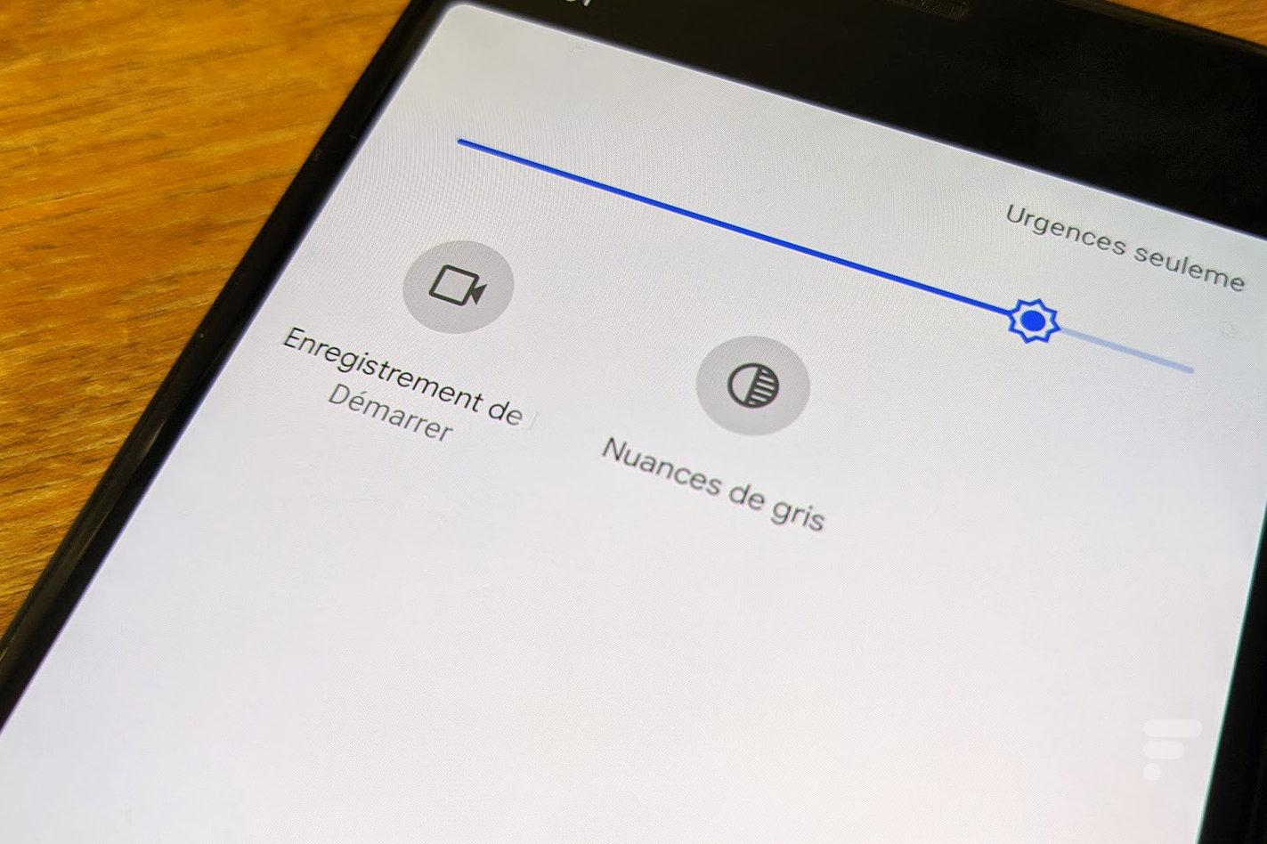 Android 11 intègre enfin un enregistreur d'écran natif