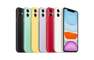 L'iPhone 11128Go à 719euros, c'est 90euros de moins que le modèle 64Go