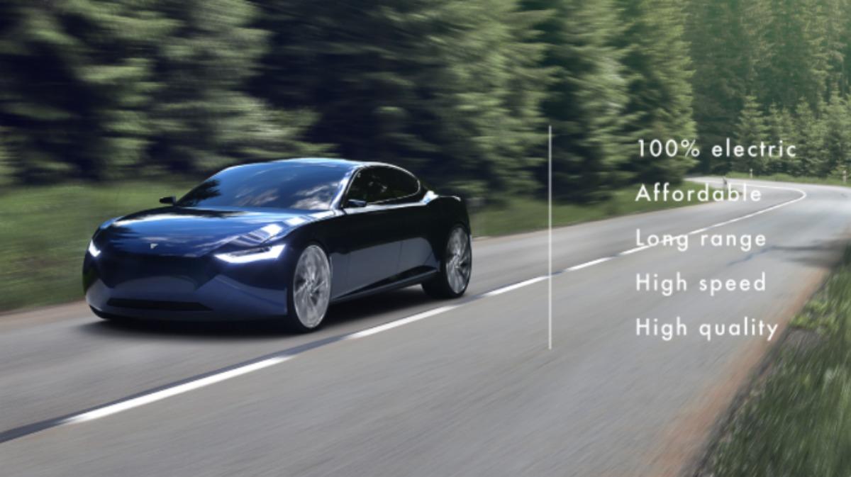 Reverie: cette charmante berline électrique promet 1000 km d'autonomie