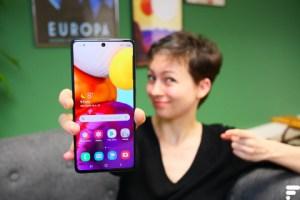 Test du Samsung Galaxy A71 : la petite amélioration du Galaxy A51