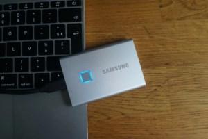 Test du Samsung T7 Touch : le SSD portable, performant, sécurisé et compact