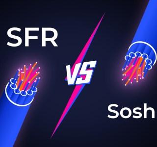 Fibre Sosh ou Fibre SFR : quelle est la meilleure offre fibre à 15 euros ?