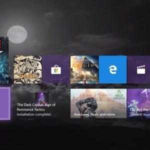 Xbox One : généreusement repensée, la nouvelle interface arrive sur votre console