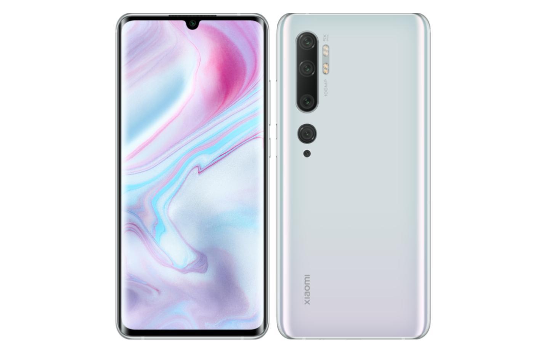 Le Xiaomi Mi Note 10 à moins de 400 euros avec 60 euros offerts sur Rakuten