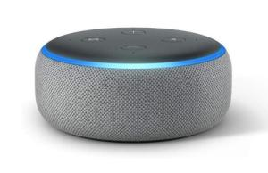 La mini enceinte connectée Amazon Echo Dot à un mini prix